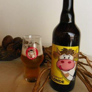 Bière artisanale blonde du Jura