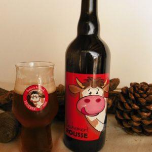 Bière artisanale rousse du Jura