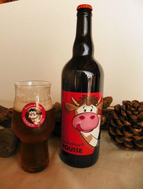 Bière artisanale rousse